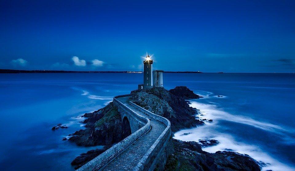 luce blu per dormire